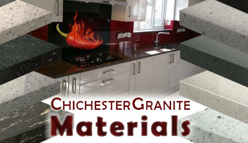 Chichester Granite - materials we use for or kitchen worktops and headstone memorials