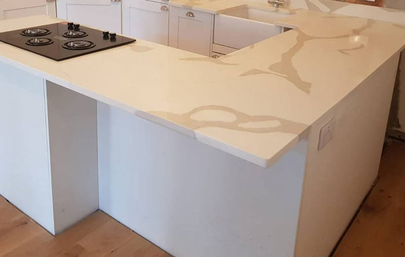 Chichester Granite Calacatta quartzcorner worktop