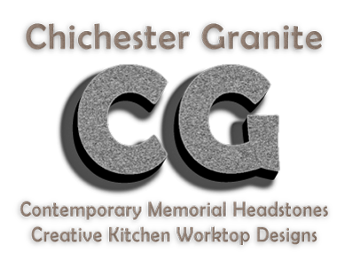 chichester granite - contemporary memorial headstones and kitchen worktops