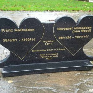 Memorial Plaque Headstone Engraved- Granite Plaque Custom Made High Quality