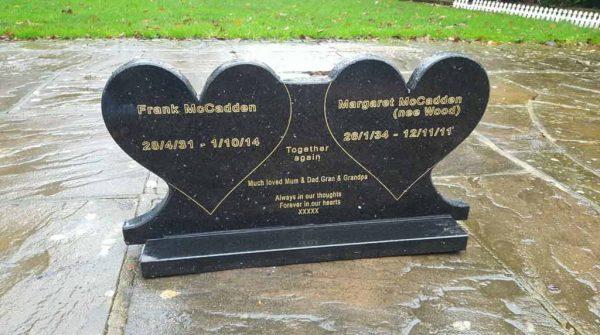 Memorial Plaque Headstone Engraved- Granite Plaque Custom Made High Quality