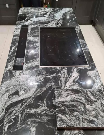 Black Forest Granite Kitchen Worktop Iland