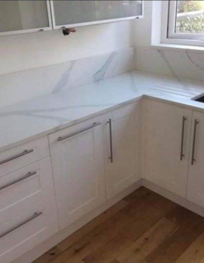 Chichester Granite designs granite and quartz kitchen worktops for the Eastbourne area.