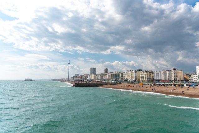 Brighton is a seaside resort in East Sussex.